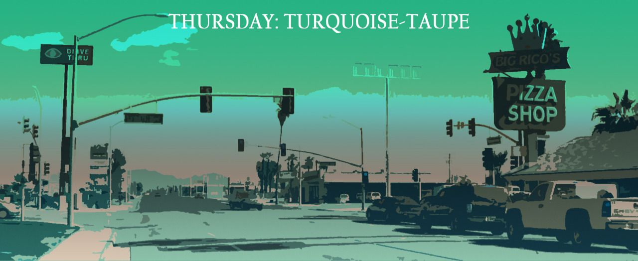 Thursday Turquoise Taupe You Are Safe Now Welcome To Night Vale Night Vale Night Vale Presents