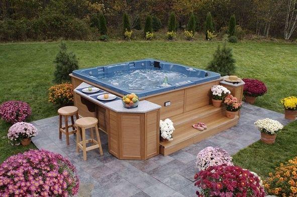 25 Awesome Hot Tub Design Ideas Hot Tub Backyard Hot Tub Landscaping Hot Tub Garden