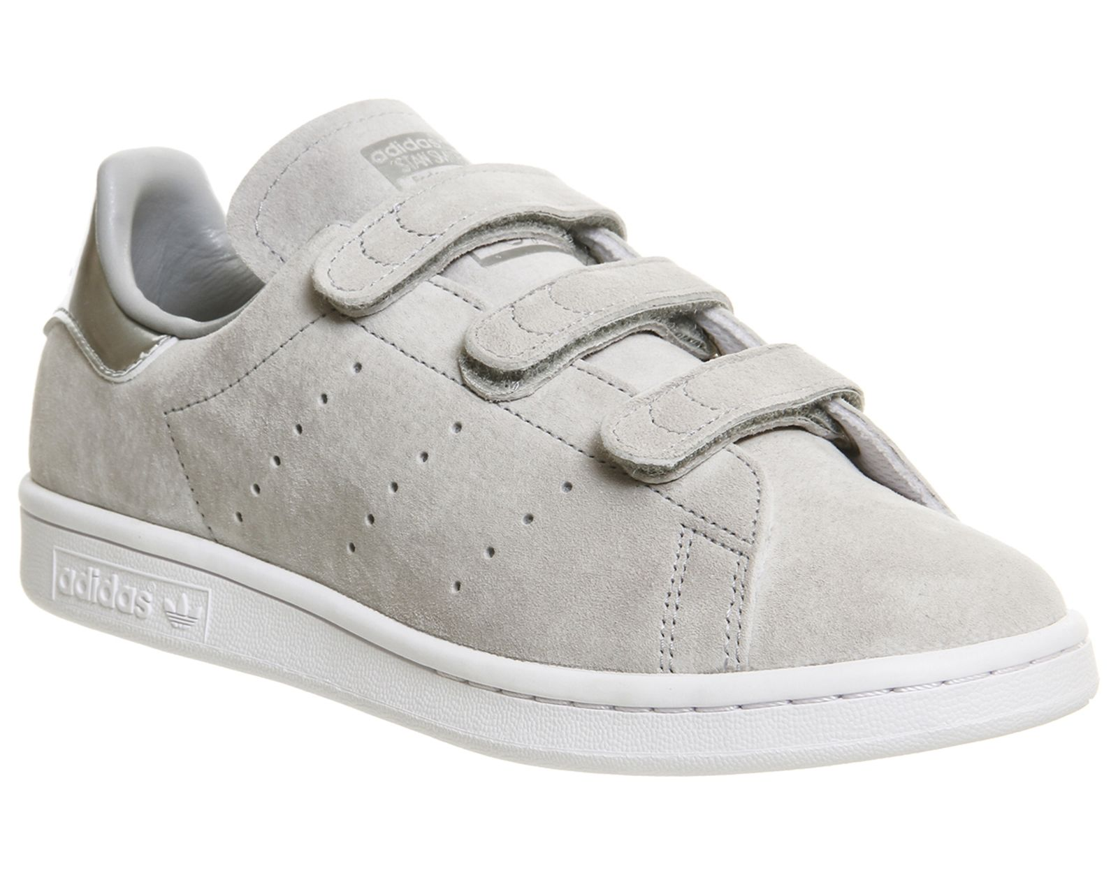 Adidas Stan Smith Cf Trainers Clear Onix Silver - Hers trainers