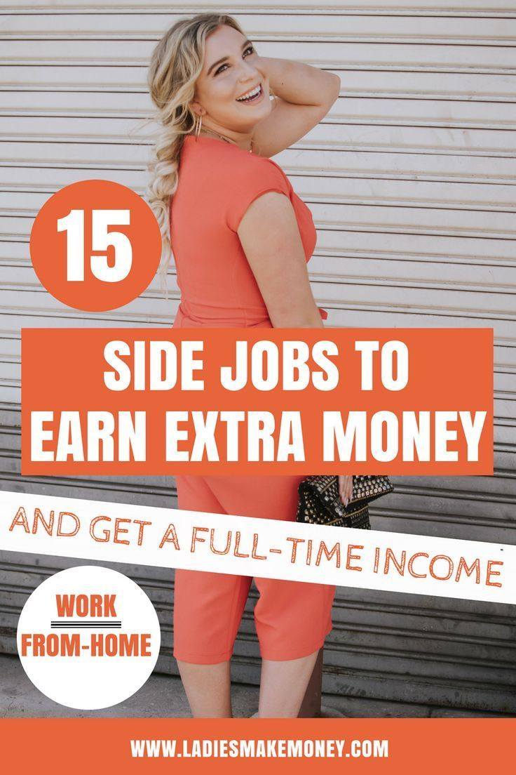 15 Side jobs you can and earn a full -time income from