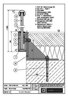 Best Glass Balustrade Connection Detail Mimari Detaylar 400 x 300