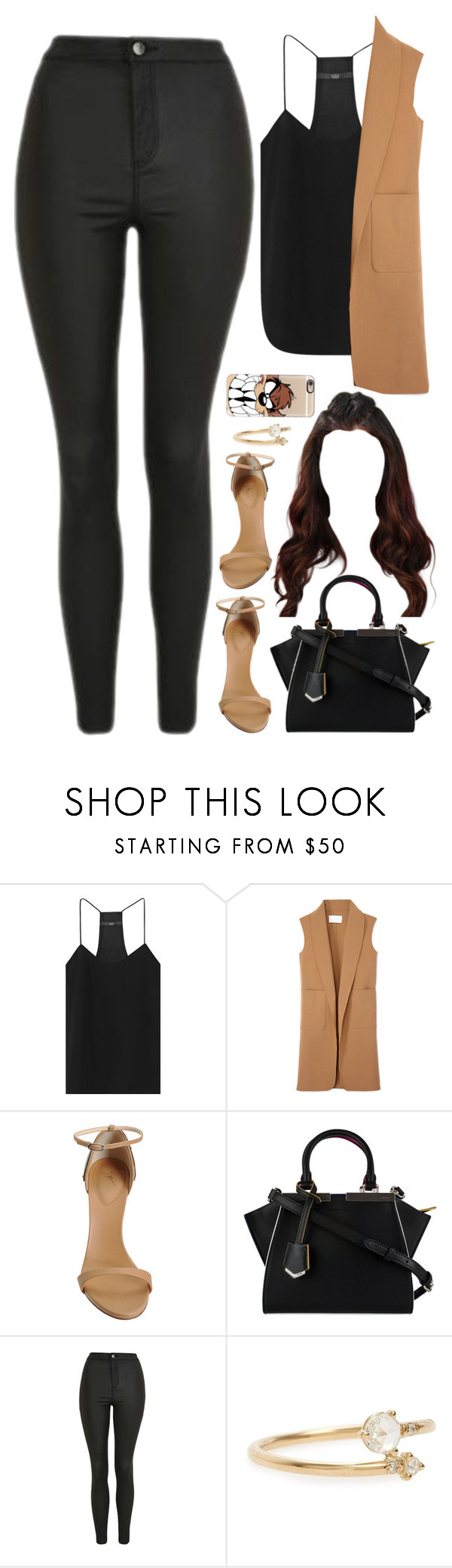 """26 November, 2016"" by jamilah-rochon ❤ liked on Polyvore featuring TIBI, Alexander Wang, Giuseppe Zanotti, Fendi, Topshop, WWAKE and Casetify"