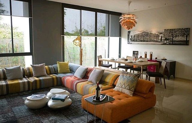 ROCHE BOBOIS We have cold evening cozy up on the warm and inviting