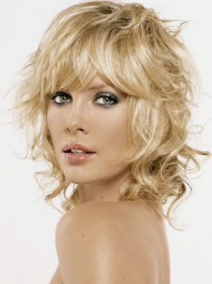 Wavy Layered Hairstyles For Medium Length Pictures 3 Free Medium