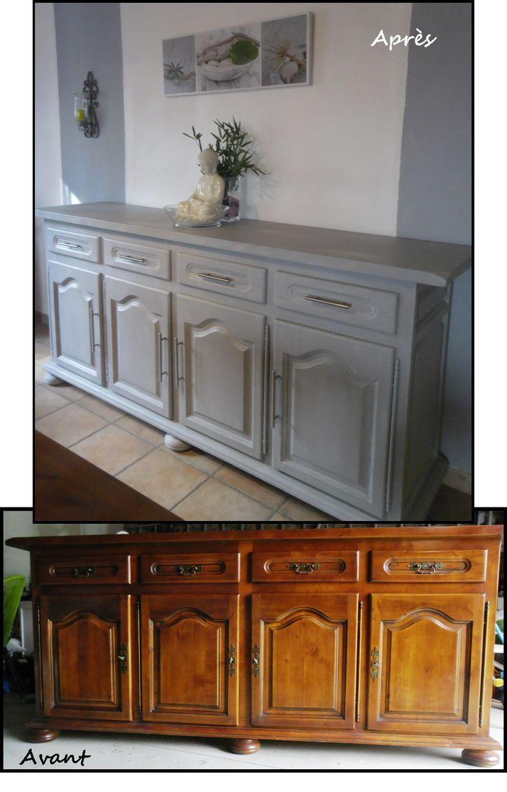 10 id es d co cuisine meuble relook s meuble mobilier - Deco meuble ancien ...