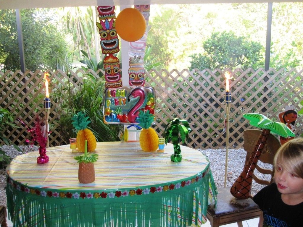 Homemade Luau Decoration Decorations For Exciting Party Britday Ideas