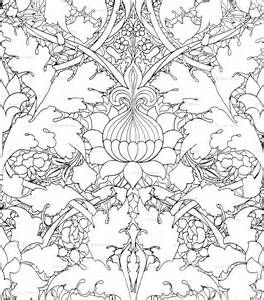 william morris coloring pages bing images