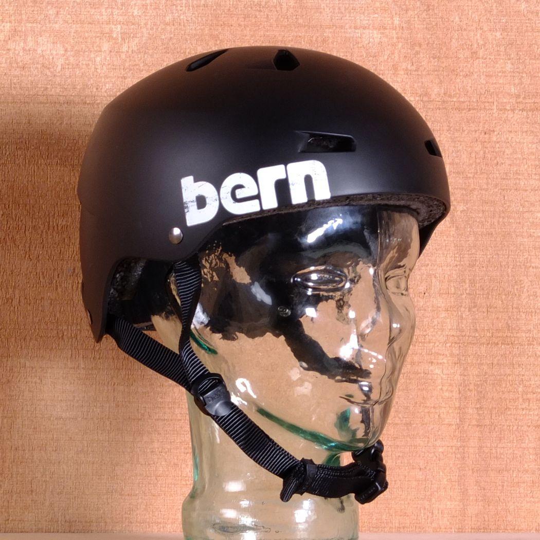 Bern Macon Eps Matte Black Helmet Size Small Matte Black Helmet Helmet Matte Black