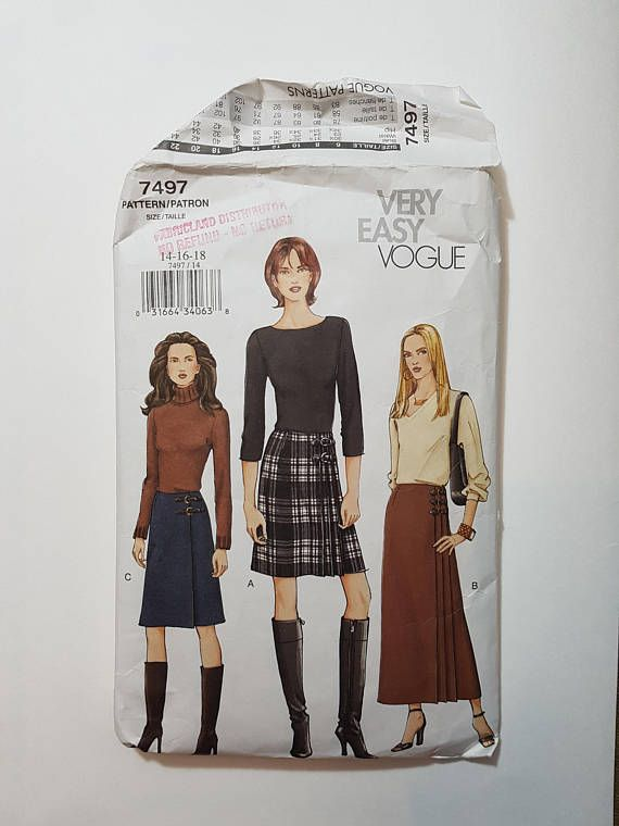 Easy Sewing Pattern for Wrap Skirt - Maxi Skirt Sewing Pattern- Size ...