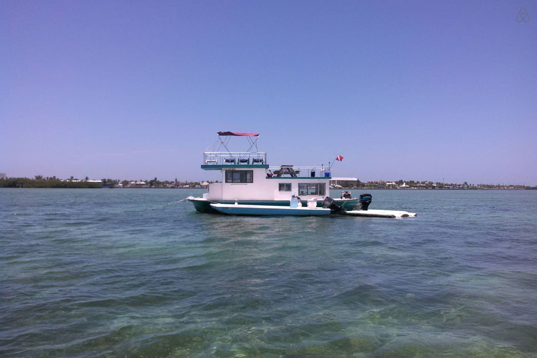 40 houseboat free spirit vacation rental in key west