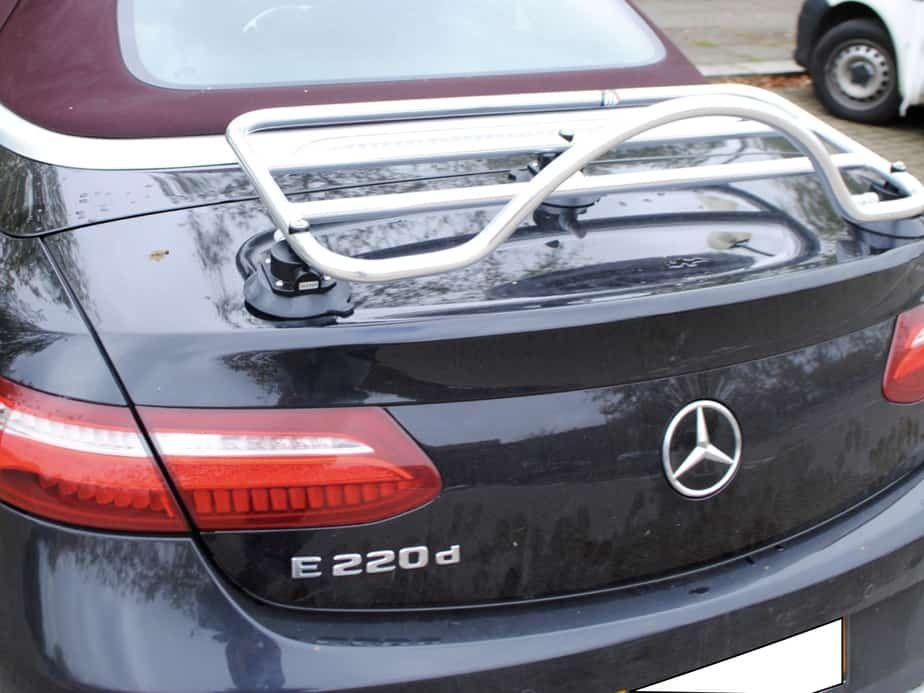 MercedesBenz E Class Cabriolet Luggage Rack No clamps