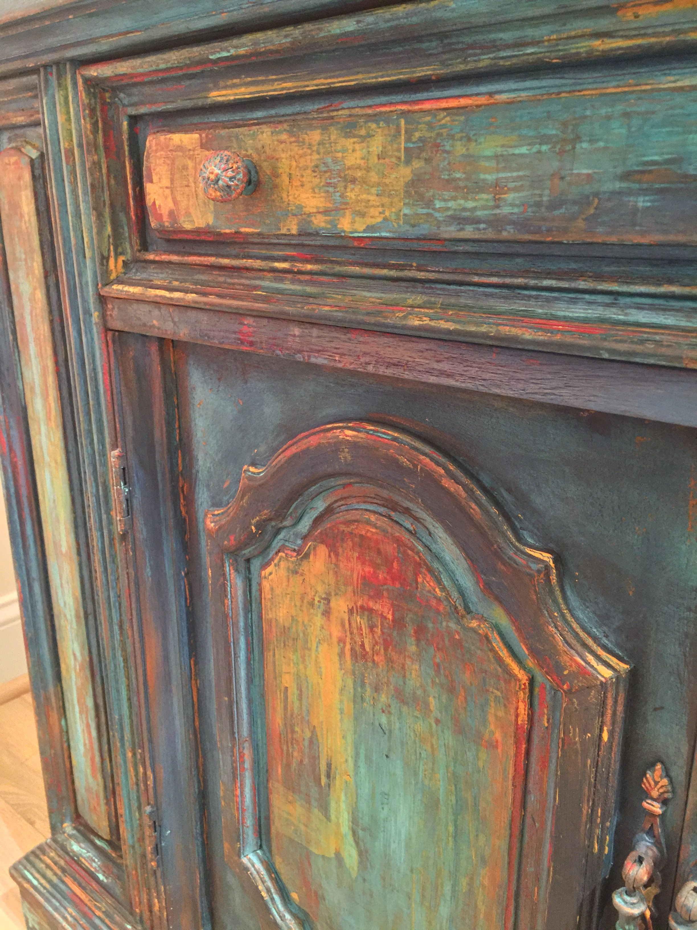 Boho Desert Bohemian Painted Furniture In 2019 Painted