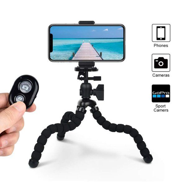 Bluetooth Camera Remote Shutter Compatible with All Cell Phones