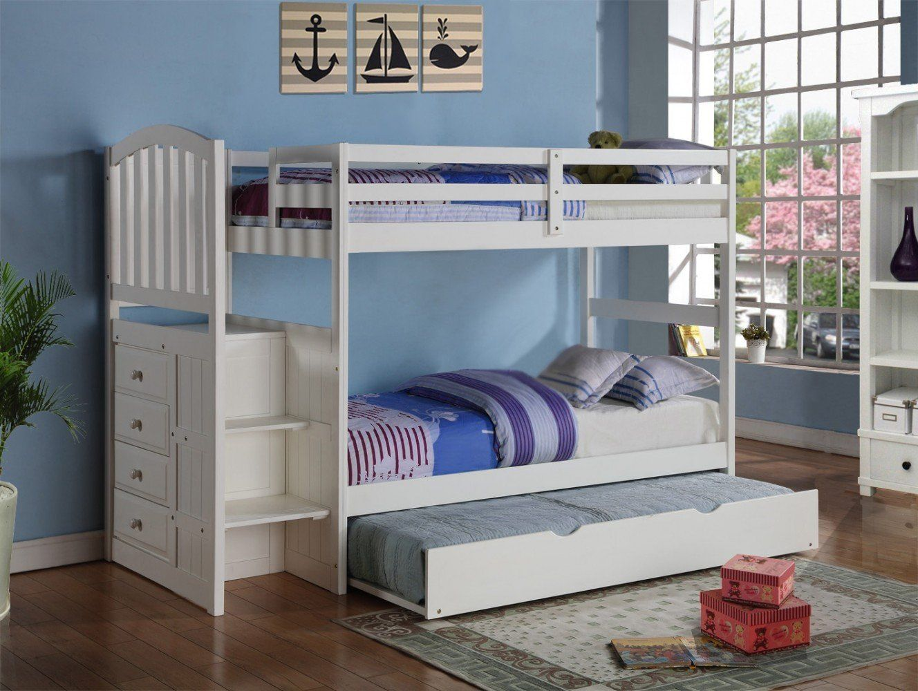 sadie white bunk bed bunk bed dresser bookshelf and toddler bunk beds