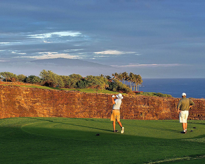 Manele Golf Course - Hole 17