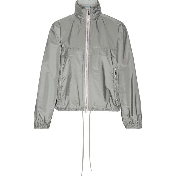 f40a72a4 Prada Hooded shell jacket (13.722.685 IDR) ❤ liked on Polyvore ...