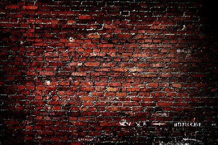 Red Brick Wall Backdrop