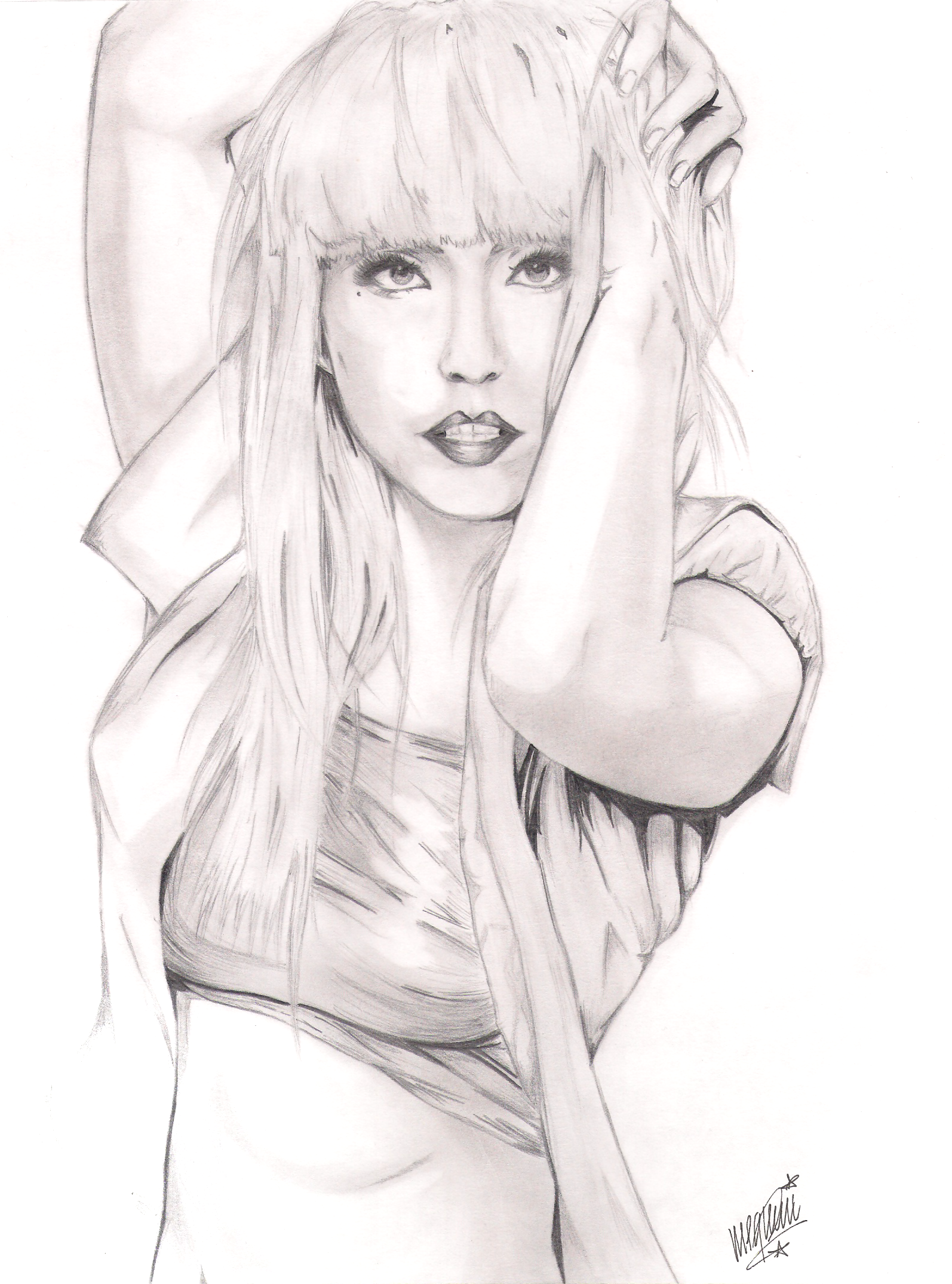 Image Detail For Lady Gaga Coloring Page For Adults Coloring Page Of Lady Kleuren