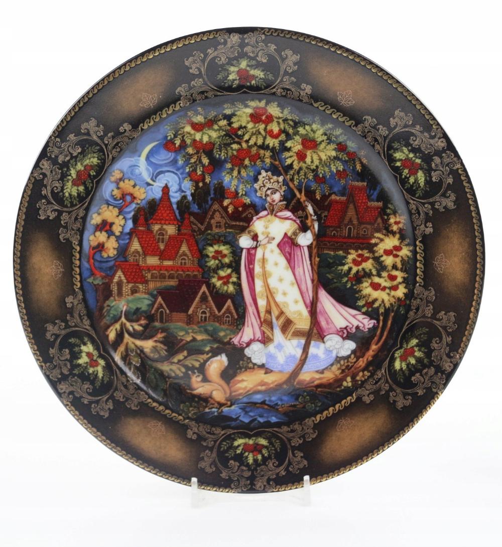 Pchli Targ Talerz Rosyjskie Bajki 8086151373 Oficjalne Archiwum Allegro Tableware Accessories Plates Seasons