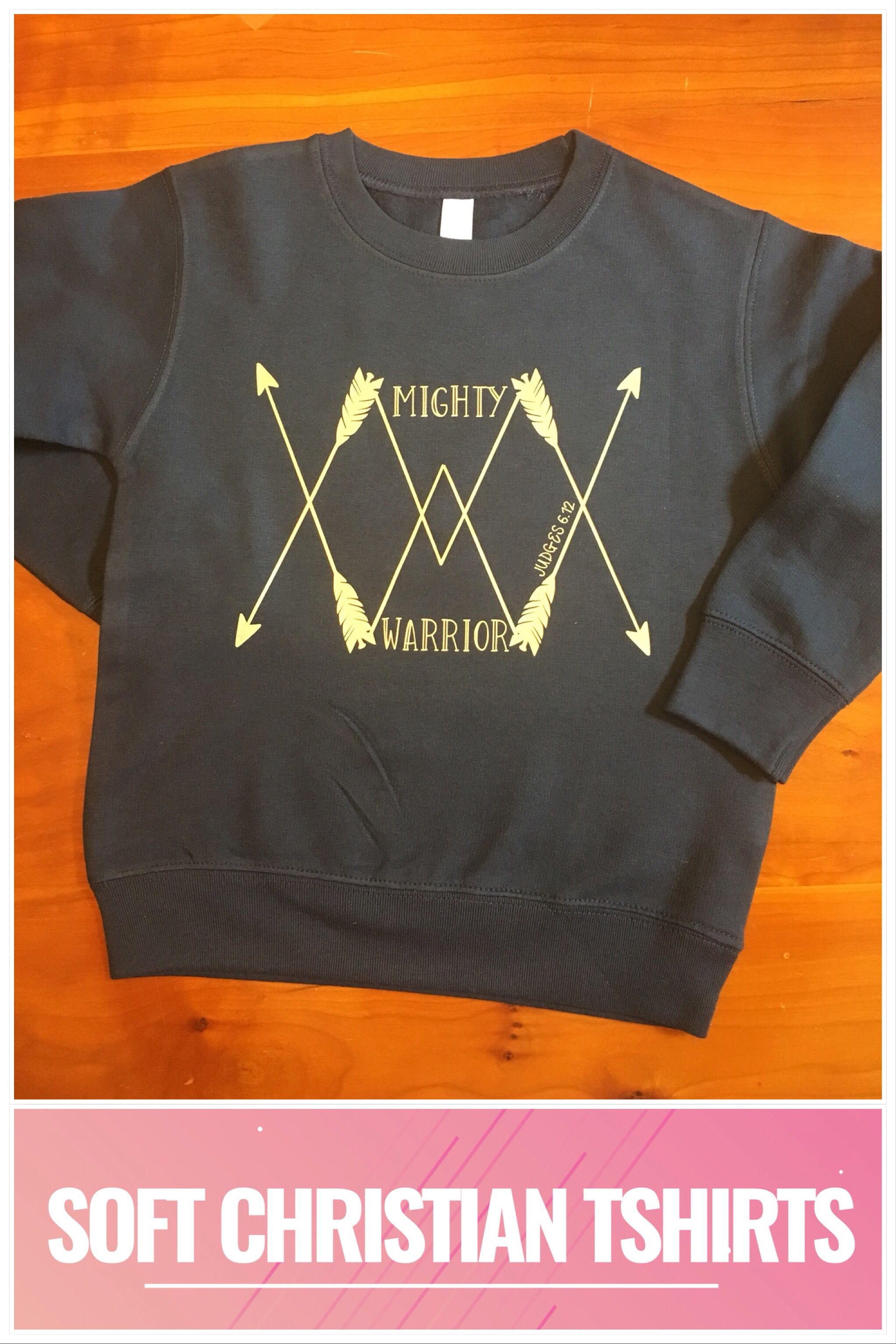 Clothing Kids Sweatshirt Mighty Warrior Soft