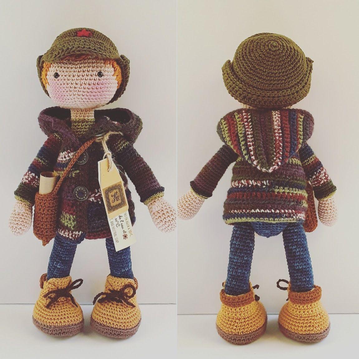 бесплатно вязание для куклы
