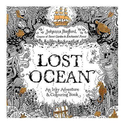 Lost Ocean Drawing Coloring Book Graffiti Books Adult Painting Children