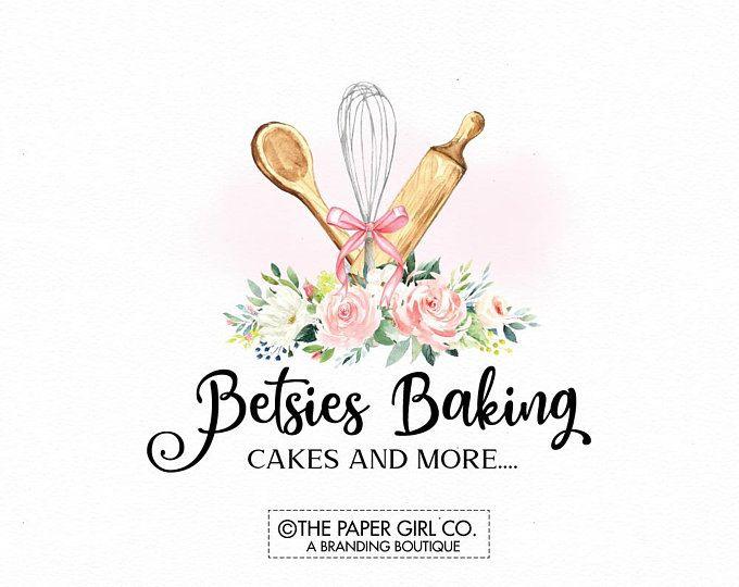 Whisk Logo Rolling Pin Logo Baking Logo Bakery Logo Bakers Etsy Cake Logo Design Baking Logo Design Bakery Logo