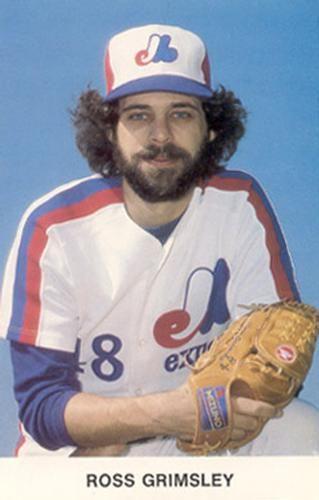 Ross Grimsley Montreal Expos Expos Baseball Baseball Best