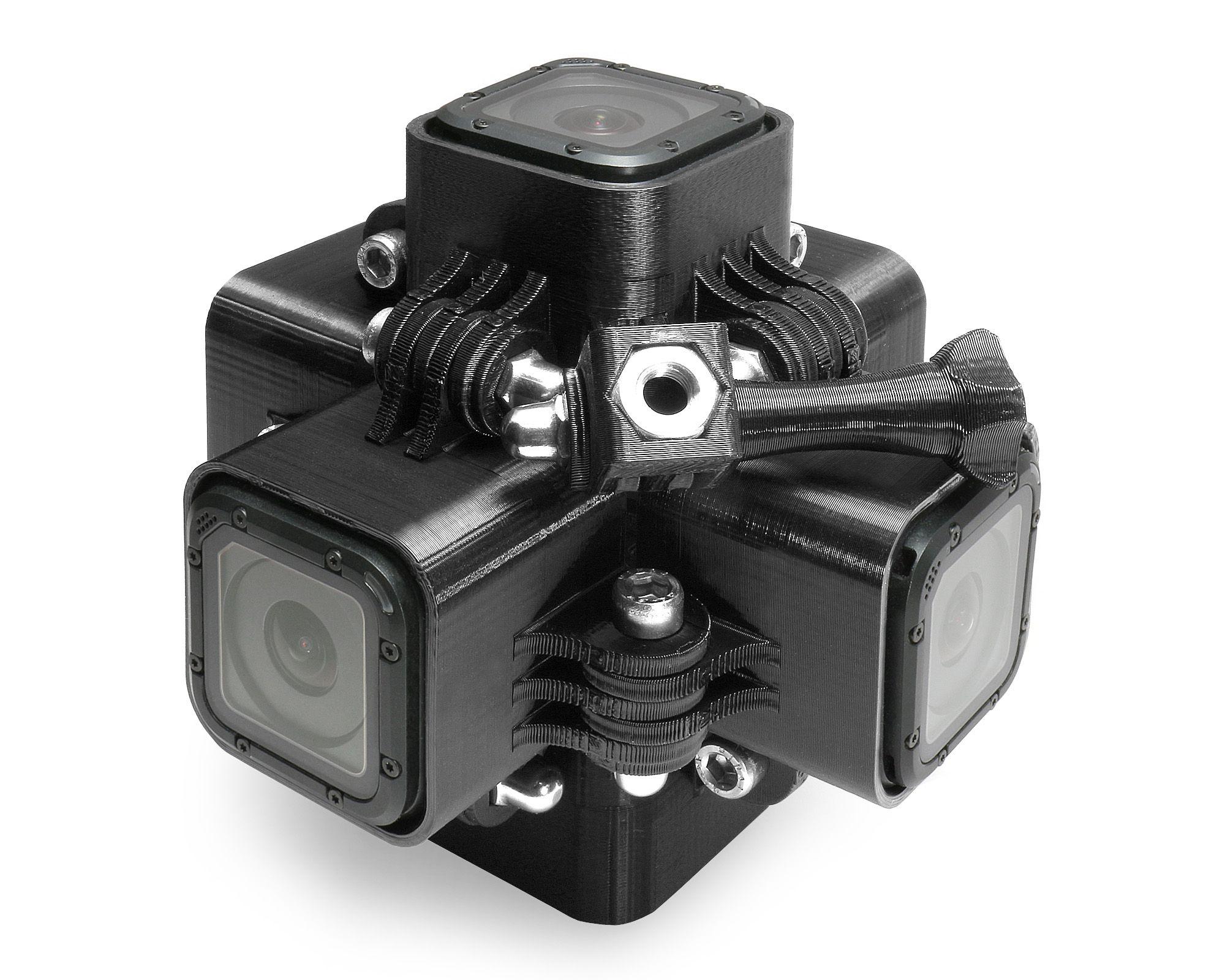 Frame Mount Tripod Mount für GoPro Go Pro HD HERO 3 Black Zubehör Adapter Red