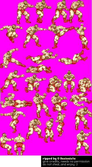 Mobile Street Fighter 2 Champion Edition Zangief Street Fighter Street Fighter 2 Fighter
