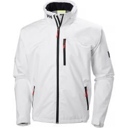 Helly Hansen Mens Crew Kapuzen Sailing Winterjacke White Xxl #warmclothes