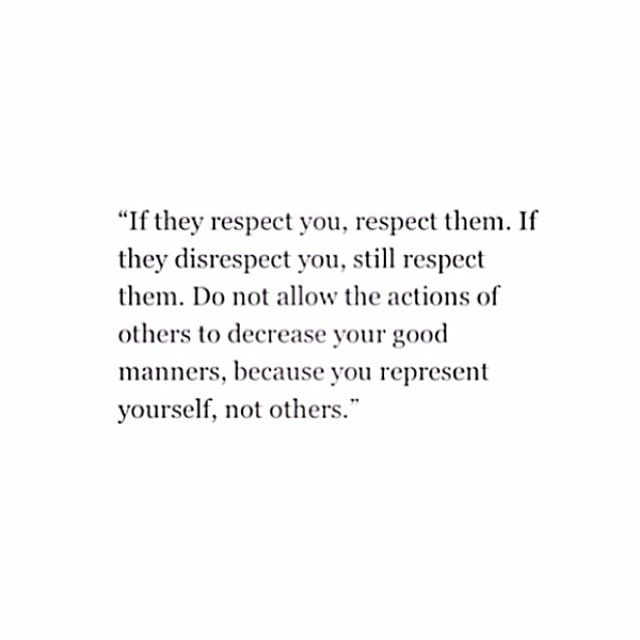 Do not allow the actions of others to decrease your good