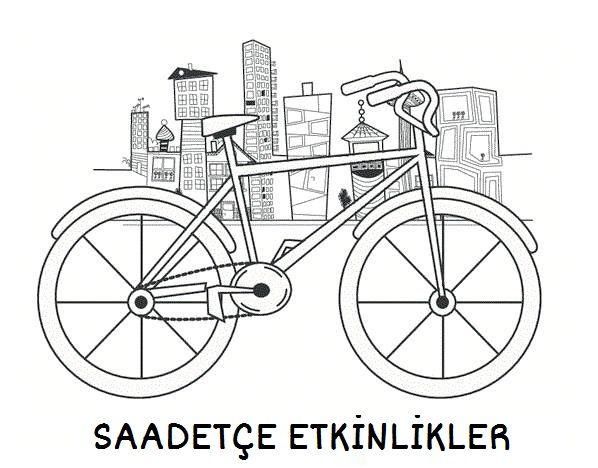 Rabia Adli Kullanicinin Okul Oncesi Panosundaki Pin Bisiklet