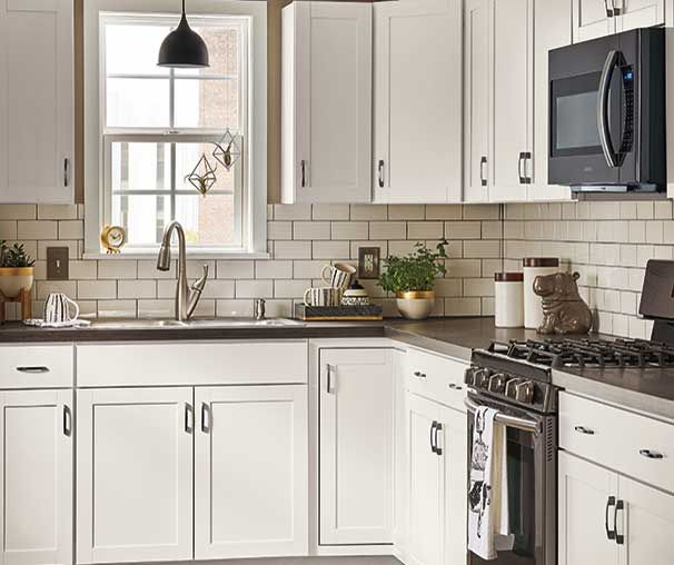 Diamond NOW At Loweu0027s   Arcadia Collection. Streamlined Styling And A  Durable White TrueColor™