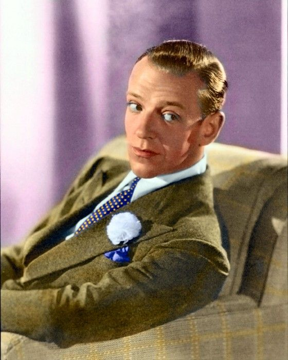 Fred Astaire colorized