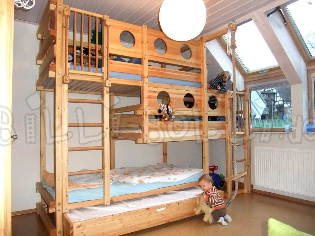 Triple Bunk Bed Type 1A Bett ideen, Betten für kinder