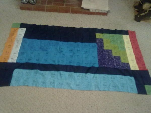 making a periodic table of elements quilt tutorial - Periodic Table Of Elements Quilt