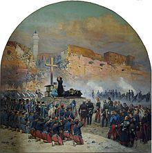 Él acompañó a la expedición de Argelia contra la ciudad de Constantino en el otoño de 1836, y en una segunda expedición (1837) se le confió el mando de una brigada y con la dirección de las operaciones de asedio antes de Constantino. General Damrémont fue muerto a su lado el 12 de octubre, y el lugar fue tomada por asalto el día 13