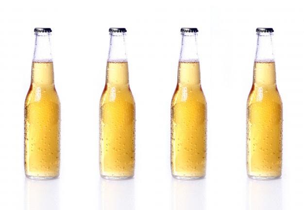 Download Bottles Of Beer Isolated On White For Free Bottle Beer Hot Sauce Bottles