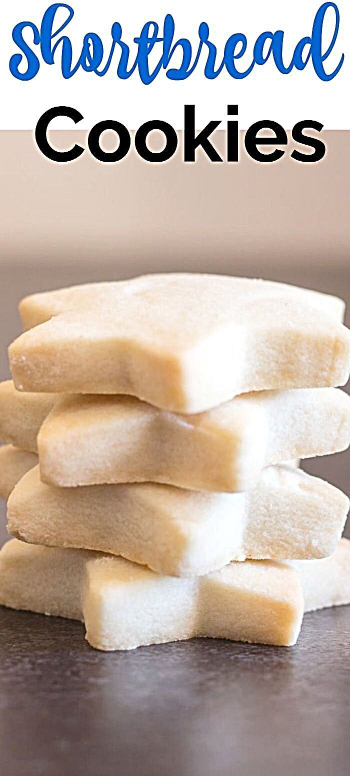 - The Best Simple Two Way Shortbread Cookies, the ultimate melt in your mouth shortbread cookie reci...