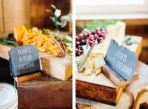 Because what's a Wisconsin wedding without cheese? | Sugarland in Arena, WI