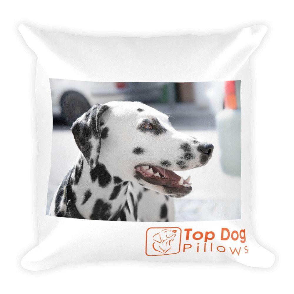 Dalmatian Dog Square Pillow