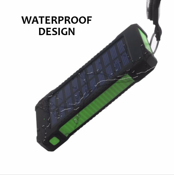 WATERPROOF SOLAR PANEL PHONE CHARGER