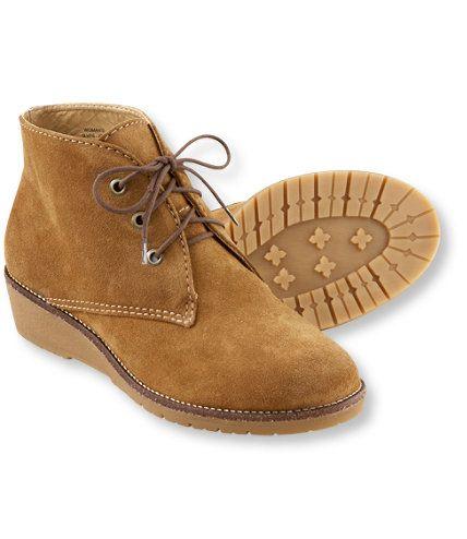 Wedge Chukka Boots : L.L.Bean