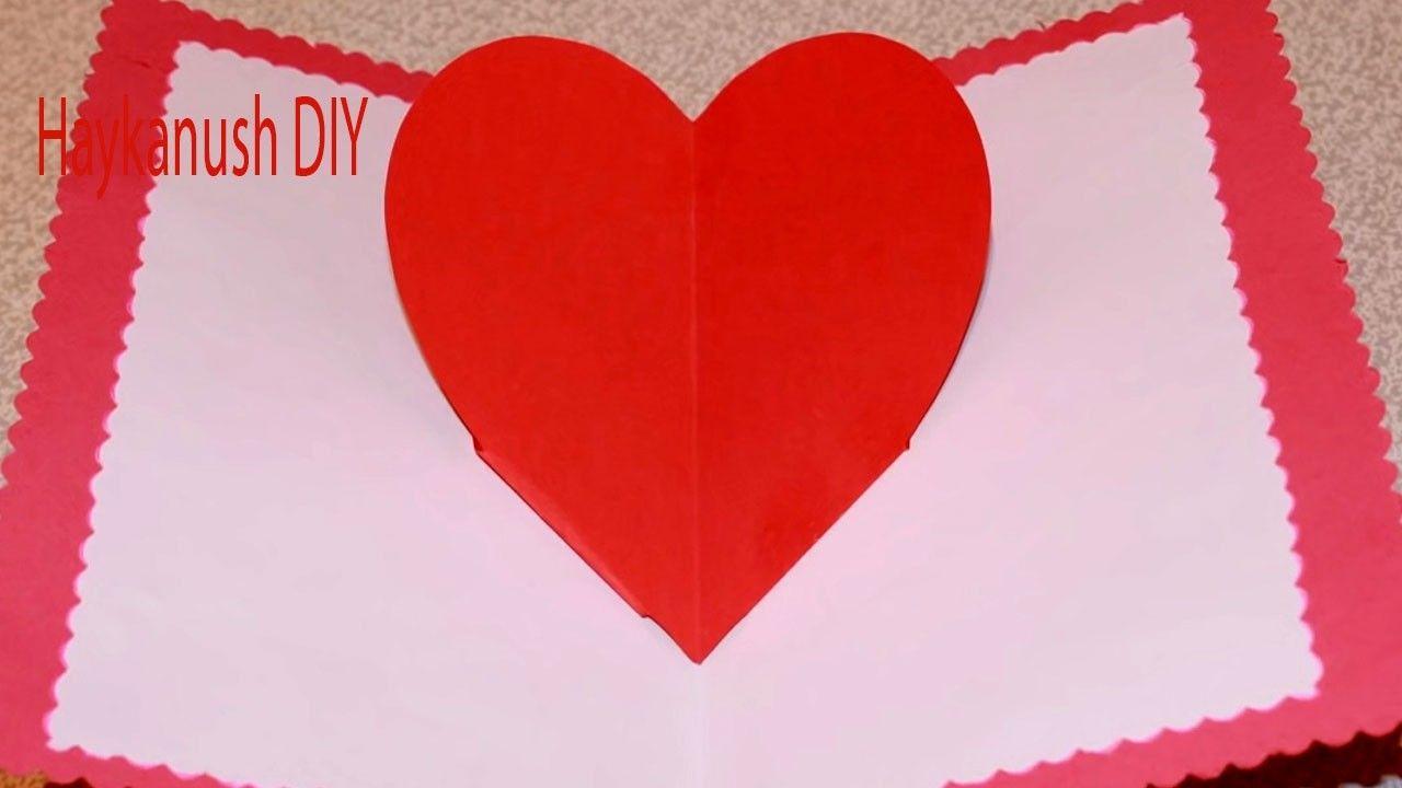 Diy paper crafts tutorial heart pop up valentine card step by step diy paper crafts tutorial heart pop up valentine card step by step jeuxipadfo Gallery