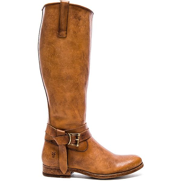 Frye Melissa Knotted Tall Boot (264.040 CLP) ❤ liked on Polyvore featuring shoes, boots, knee-high boots, frye knee high boots, leather upper boots, frye, tall knee high boots and side zipper boots