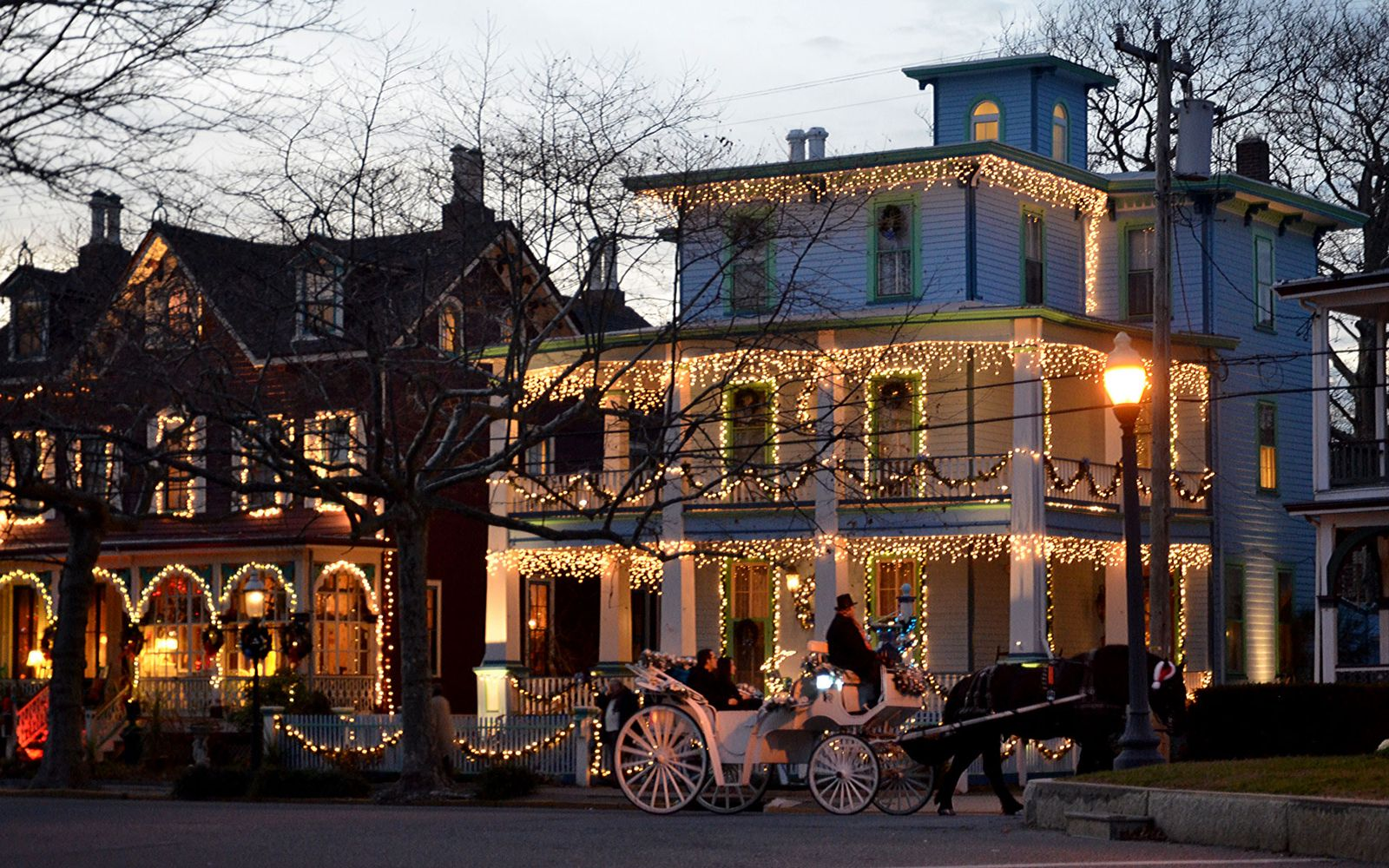 America's Best Towns for the Holidays Cape may, Holidays