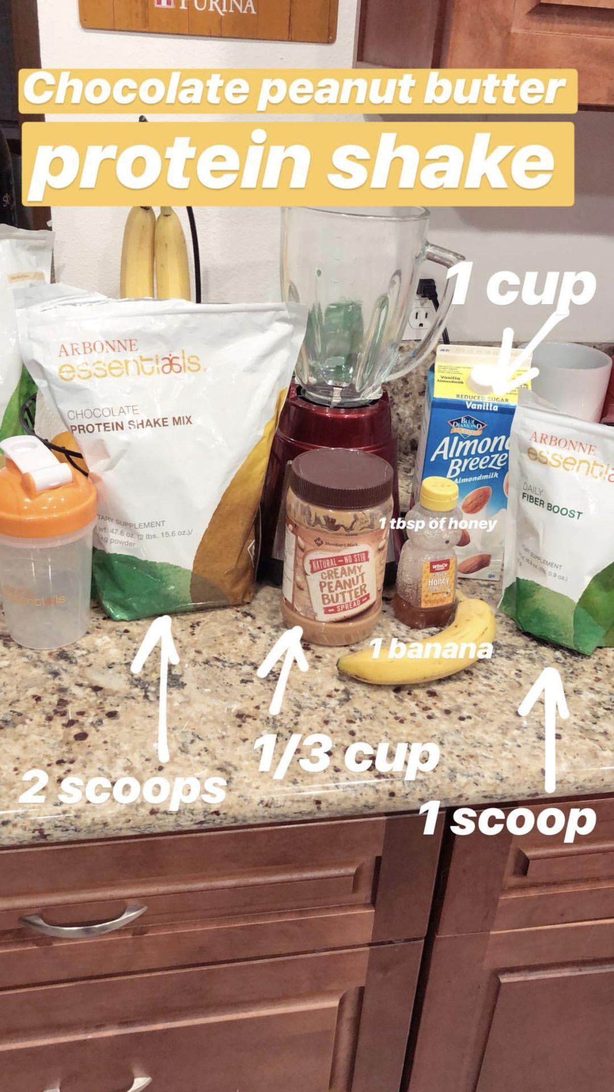 Protein shake #healthychocolateshakes