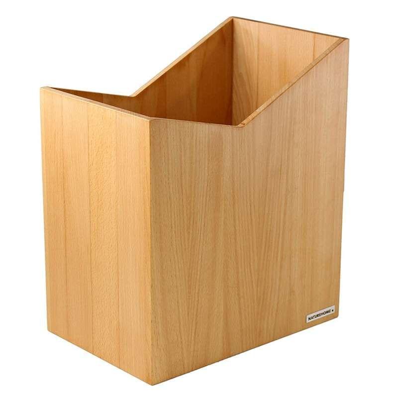 Buchen Holz Papierkorb von NATUREHOME Holz, Papier