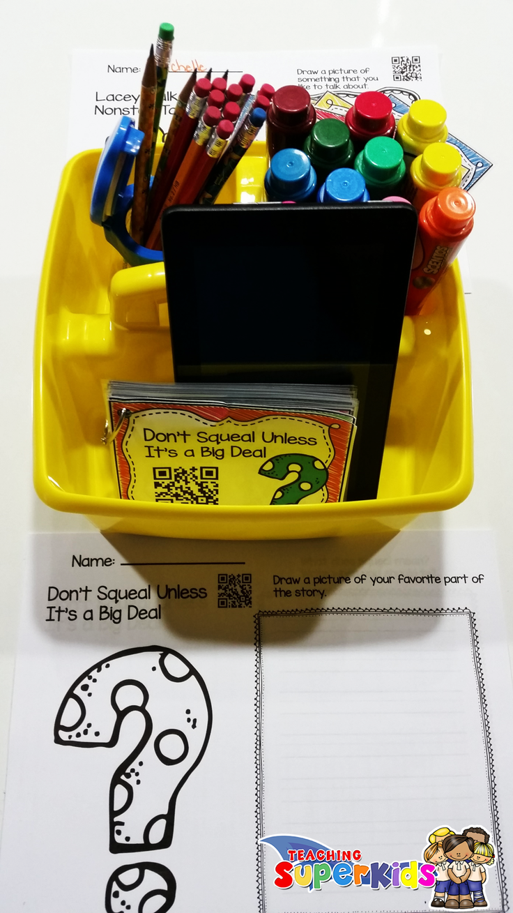 Do you use QR Codes in your listening center? If you are looking for some ideas on how you can increase student accountability in this are check out my blog post!